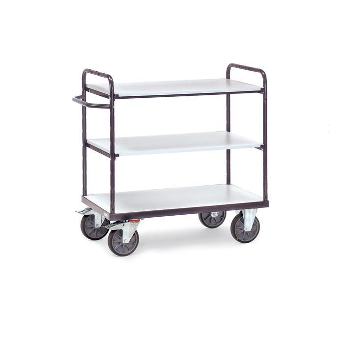 Chariot ESD Shelf - avec 3 étages - 500 kg