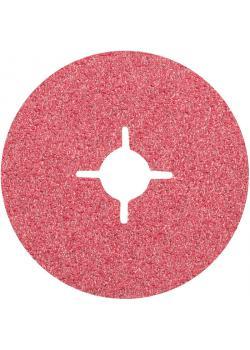 Fiberscheibe - PFERD - Keramikkorn - D x H 115 /180 bis 22 mm - Korngröße 24 bis 120 - Preis per Stück