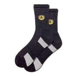 calzini funzionali, ESD, nero / grigio, formato: 39-47, FORTIS