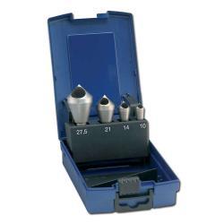Entgratsenker-Set, QL, HSSE, 90°, Nenn-Ø:10-28,0mm, FORUM