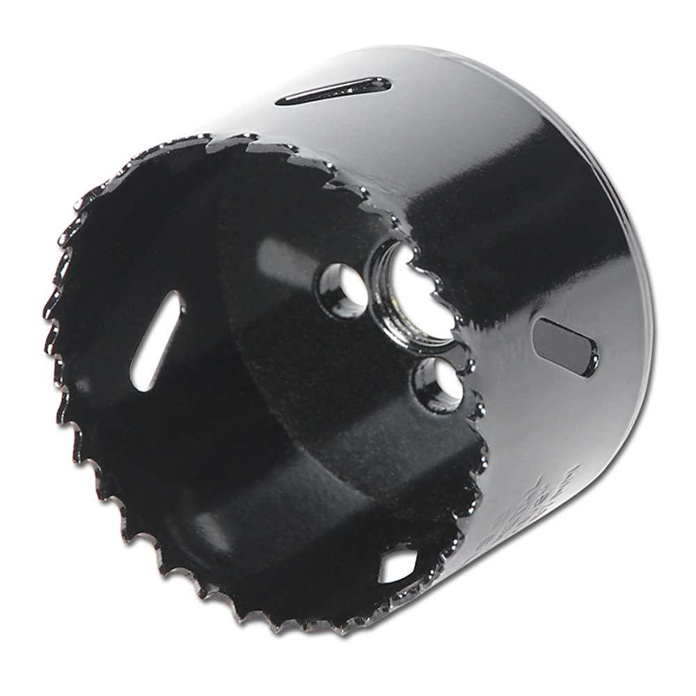 HSS Lochsäge - Bimetall - Bohrungs-Ø 14 mm bis 152 mm - Schnitttiefe 38 mm - für Stahl und Aluminium