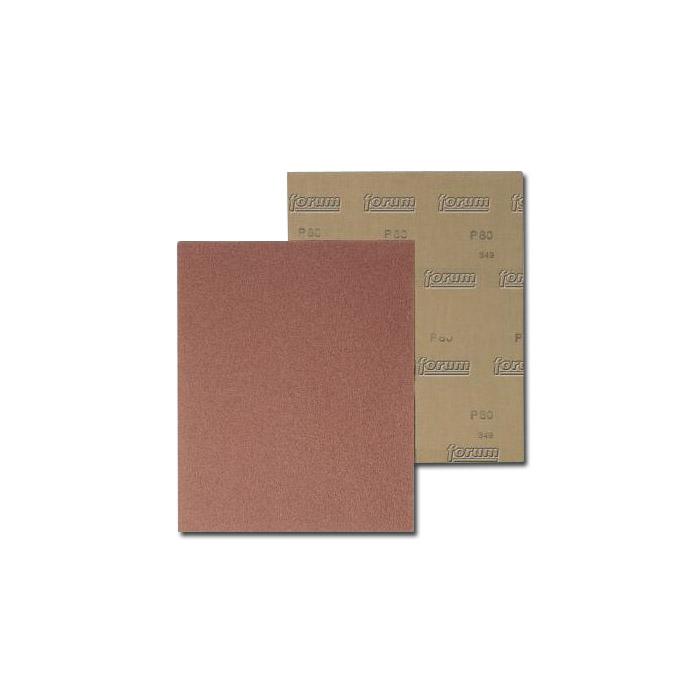 Slipband - brun - 230x280mm - grit 40-400 - Ställ 100 bitar