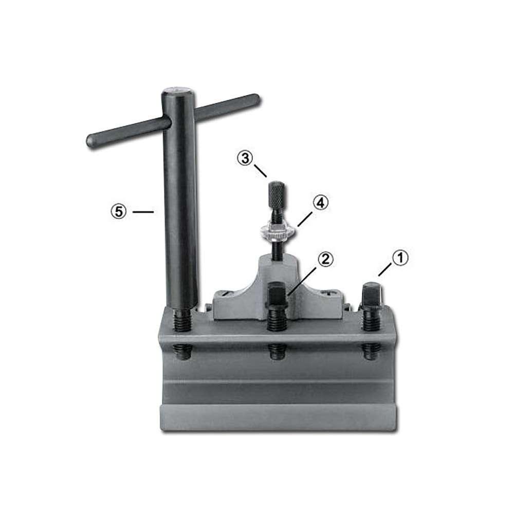Ersatz- Und Zubehörteile Für Schnellwechsel-Stahlhalter, Größe:A,B,C