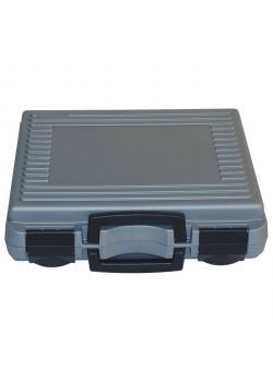 Resväska - färg silver - Material polypropylen - 340 x 298 x 96 mm