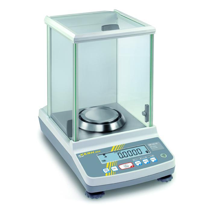 Waage - max. Wägebereich 82 bis 320 g - eichzugelassen - mit Single-Cell Wägesystem