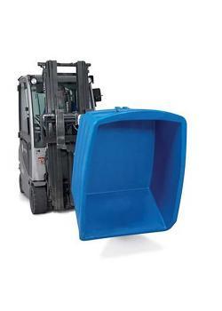 Contenitore ribaltabile per carichi pesanti - in polietilene (PE) - volume 500 litri - diversi colori