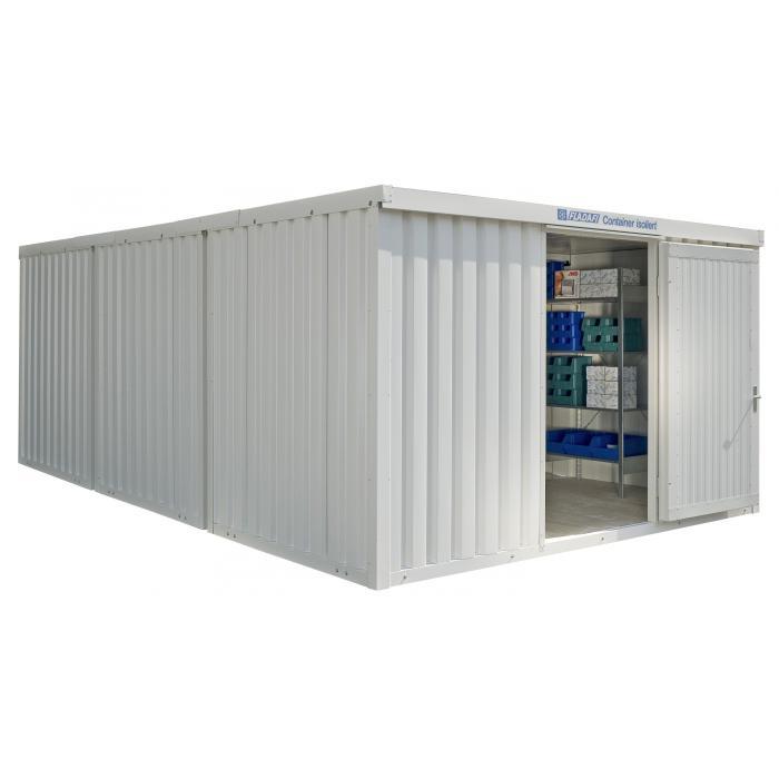"""Container - """"IC 1460"""" - isolerad - 25 m² - monterad - FLADAFI®"""