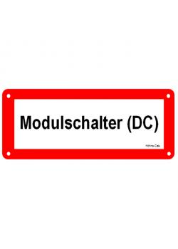 """Logga för solcellsanläggningar - """"modul switch (DC)"""""""