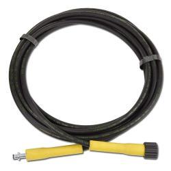 Högtrycksslang för högtryckstvätt NW6 - 160 bar - svart plast