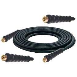 Högtrycksslang för högtryckstvätt NW8 - 315 bar -  svart gummi