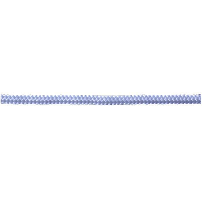 Startsnöret - flätat - nylon - vit - på spole
