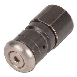 Rengöringsmunstycke för rör - till 250 bar - roterande - rostfritt stål