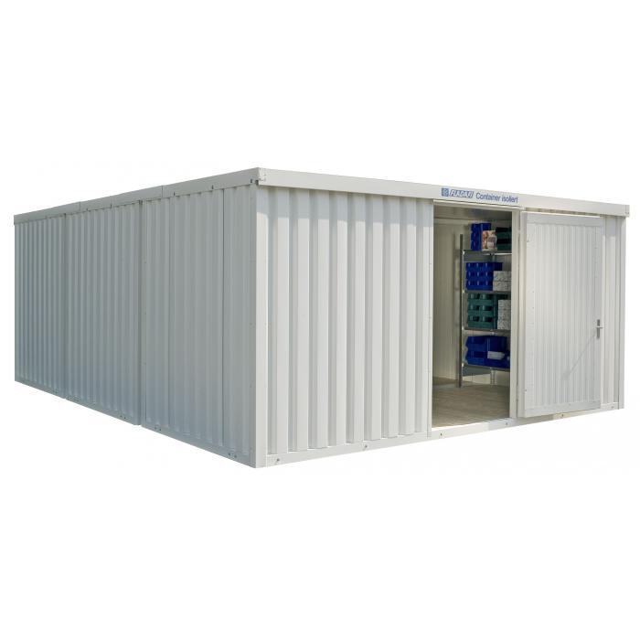 """Container - """"IC 1560"""" - isolerad - 29 m² - monterad - FLADAFI®"""