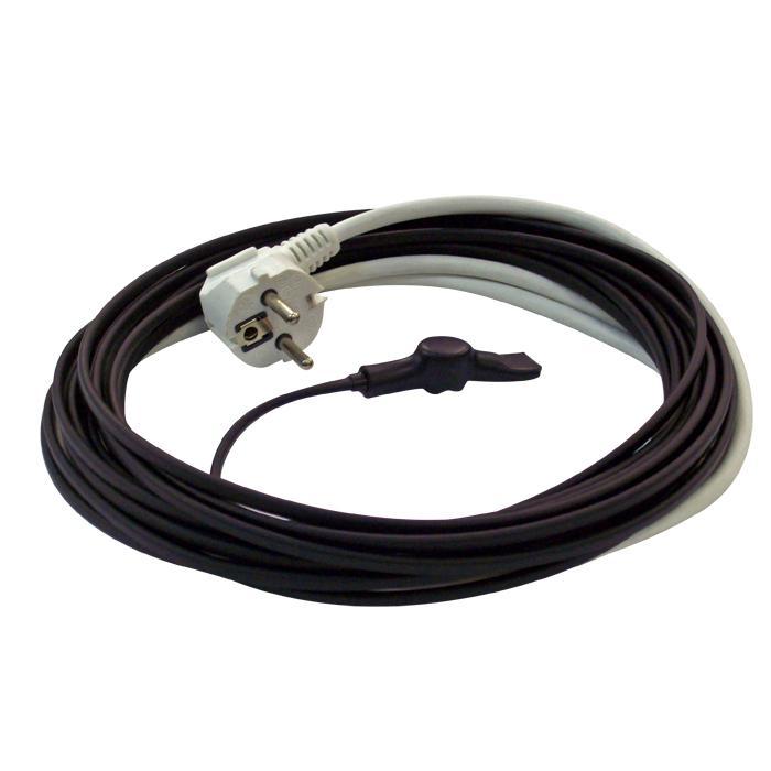 Przewody grzejne Termostat ochrony - 230V - 15W / m - kabel z wtyczką