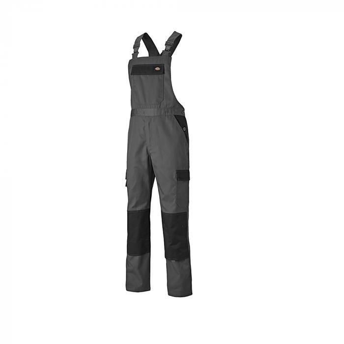 Latzhose Everyday - Dickies - Größe 44 bis 62 - grau/schwarz