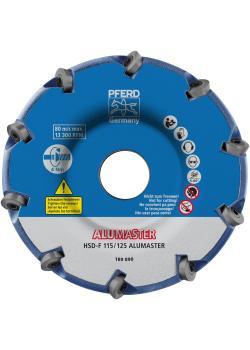 PFERD High Speed Disc ALUMASTER HICOAT HSD-F 115/125 ALUMASTER HIOCAT