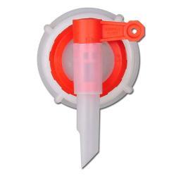 Tappkran - plast - med överfallsmutter - utloppsrör Ø 13 mm
