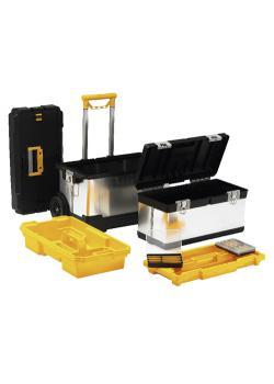 Profi-Werkzeugkoffer-Set McPlus Pro M R25L+23 - mit Trolley und zwei Koffern - Außenmaße (B x T x H) 630 x 375 x 735 mm