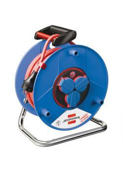 Garant® Bretec® IP 44 Gewerbe-/Baustellen-Kabeltrommel - H07RN-F 3G1,5 - Gummi-Neopren - 25-50 m