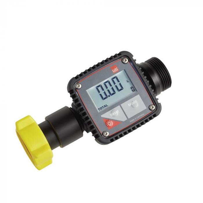 Flödesmätare - elektronisk - PP - mätområde 5 till 120 l / min. - olika mönster