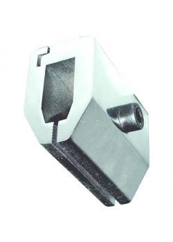 Aufsatz - mit Flachbacken - max. Belastung 5 kN - für Zugtests - VE 2 Stück