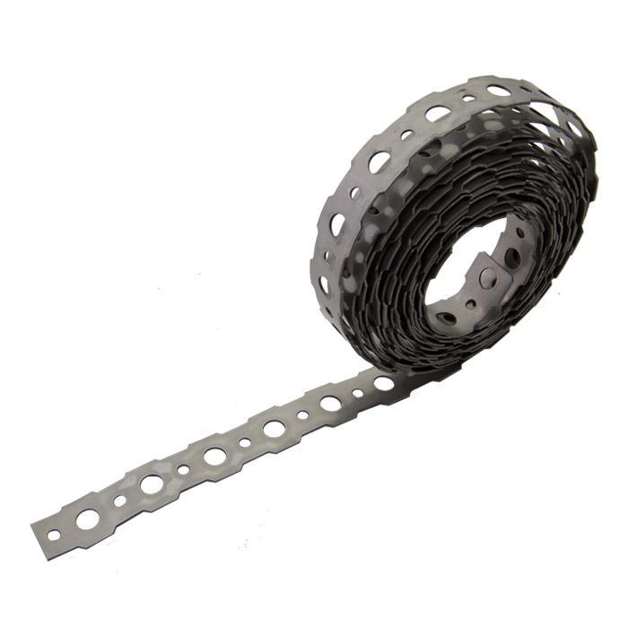 Montageband - Stahl oder Edelstahl (V2A) - 16 mm - Stärke 0,9 mm - Preis per VE