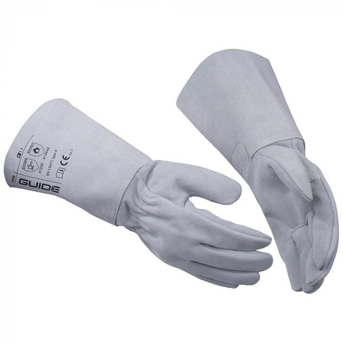 Schutzhandschuhe Guide 256 - Rindkernspaltleder - verschiedene Größen - 1 Paar - Preis per Paar