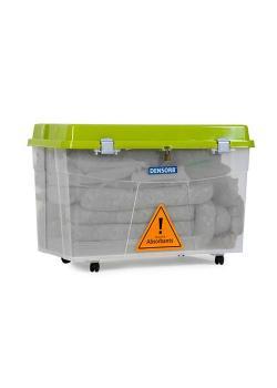 DENSORB nödsats - universell version - i en transparent rullbox