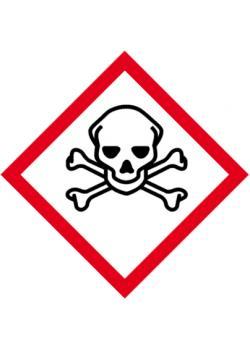 "GHS skylt - ""Akut toxicitet"""