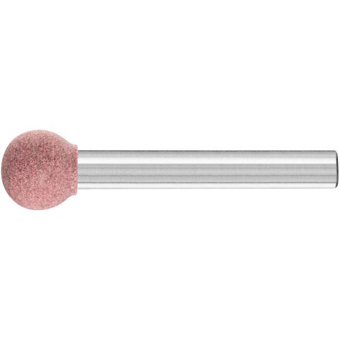 Schleifstift - PFERD Poliflex® - Schaft-Ø 6 mm - Kugelform - für Stahl, Edelstahl, Buntmetall