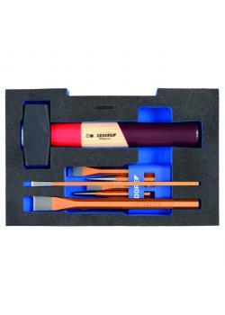 Meißel-Sortiment - in 1/2 L-BOXX 136 Modul - Rotband-Plus
