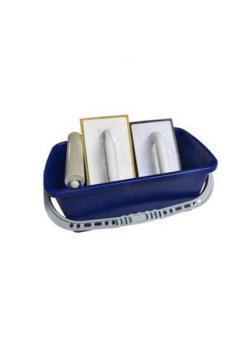 Zestaw do mycia płytek Basic - wiadro 12 l - deska do mycia płytek, deska pływająca - 280 x 140 mm