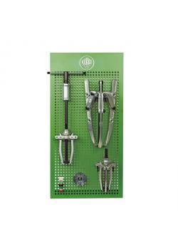 Universal Abziehsatz - auf Lochplatte - Spannweite 130 bis 450 mm - KUKKO