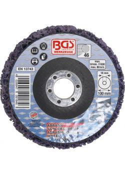 Ścierne ściernica - czarny - (Ø x Ø odbiorczy otwór) 100 x 16 mm