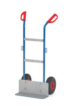 Machinery handtruck - 250 kg - bucket with non-slip cover
