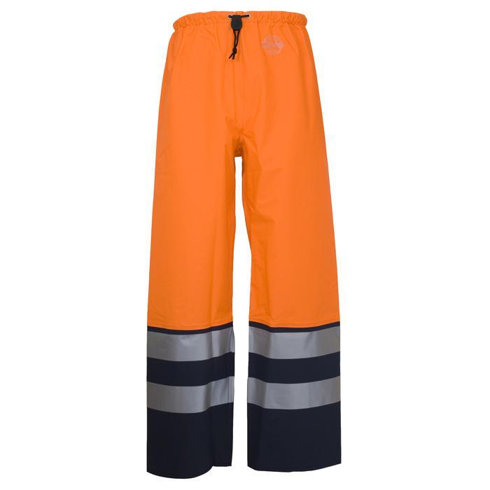 Warnschutzhose - Ocean Atec High-Vis - Größe S bis 3XL - Farbe Orange/ Marine
