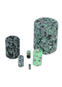 Standard-Rohrprojektil - für ptcsystem® - Verbundschaumstoff - Rohr-Ø innen 3 bis 59 mm - Preis per VE