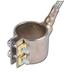 Heizmanschette/ Düsenheizband - Messing - 30 bis 37 mm Durchmesser - 230V