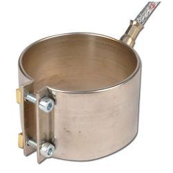 Heizmanschette/ Düsenheizband aus Messing - 65 bis 75 mm Durchmesser - 230V