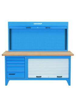 Yhdistelmätyöpöytä - kaappi - sininen - kapasiteetti jopa 2t
