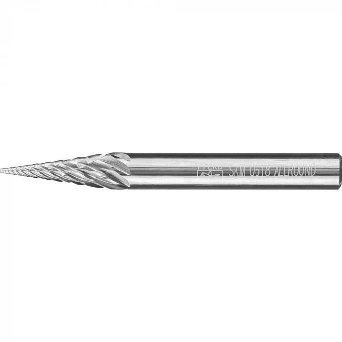 PFERD HM-Frässtift - Spitzkegelform SKM - ALLROUND - Frässtift-Ø 6 bis 12 mm - Schaft-Ø 6 mm