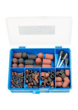 Schleifkappen-Set - PFERD POLICAP® PCS 110 C - inkl. Schleifkappenträger