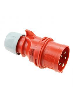 "CEE-Stecker ""Shark"" - 5-Poliger Phasenwender - 6h - 16 A - 400 V - IP 44"