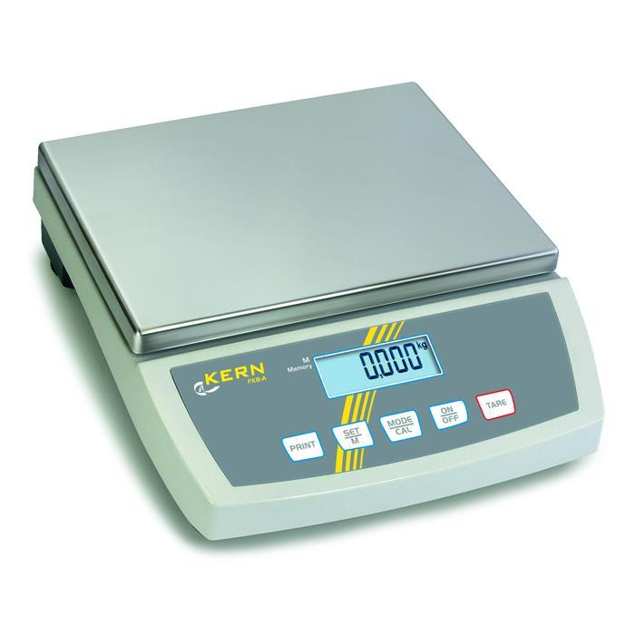Waage - max. Wägebereich 8 bis 65 kg - Ablesbarkeit [d] 0,1 bis 1 g - Tischwaage