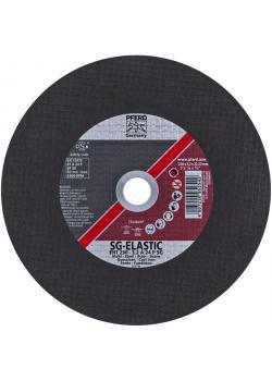 Skärande skiva - PFERD - för gjutjärn - hårdhet P - rak Typ