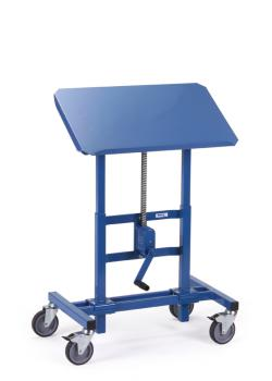 Material stand - height adjustable from 655 - 1025 mm - tiltable