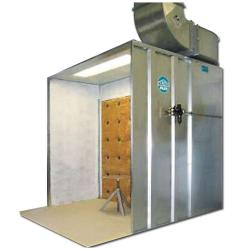 Overspray Extraction Cabin - Dry Extraction - With Solid Cabine - Model 90 K