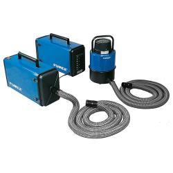 Mobil svetsrök filtret SF 3000SE - 230 V - 2 x 1000 W - för tillfälligt arbete