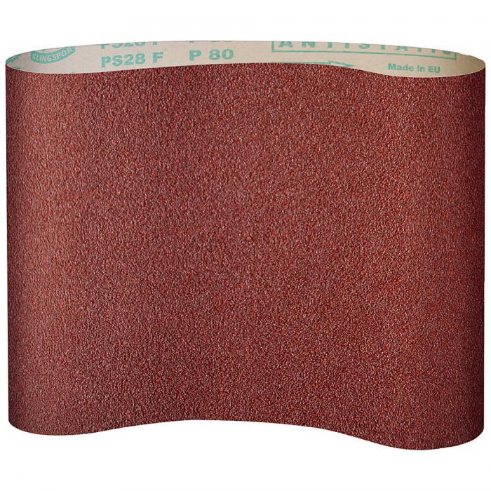 Schleifpapier PS 28 F - Breite 1120 bis 1350 mm - Länge 1900 bis 2620 mm - Korn 60 bis 150
