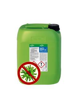 Handdesinfektionsmedel ANTISEPT -D - baserat på etanol - innehåll 100 ml till 10 l